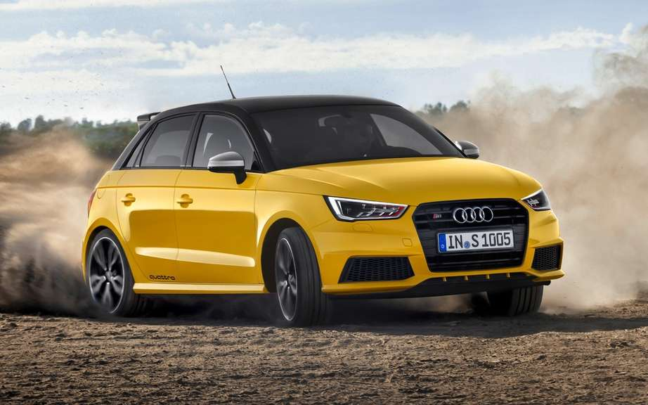 Audi A1 Quattro Limited only 333 copies picture #1