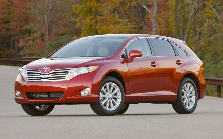 The 2009 Toyota Venza is the most stolen vehicle in Canada