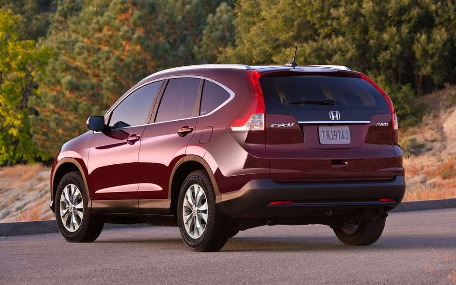 Honda CR-V 2012: Unveiling prices for Canada picture #2