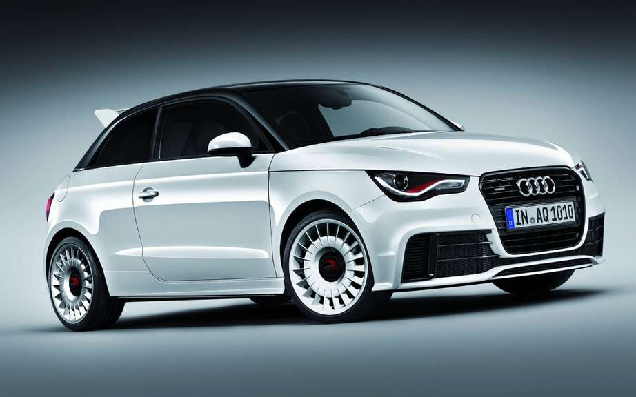 Audi A1 Quattro Limited only 333 copies picture #2