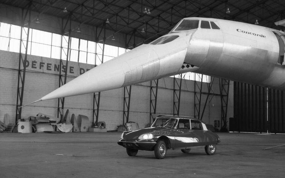 Citroen DS5 and the Concorde! picture #4