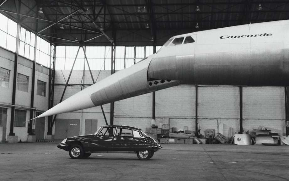 Citroen DS5 and the Concorde! picture #5