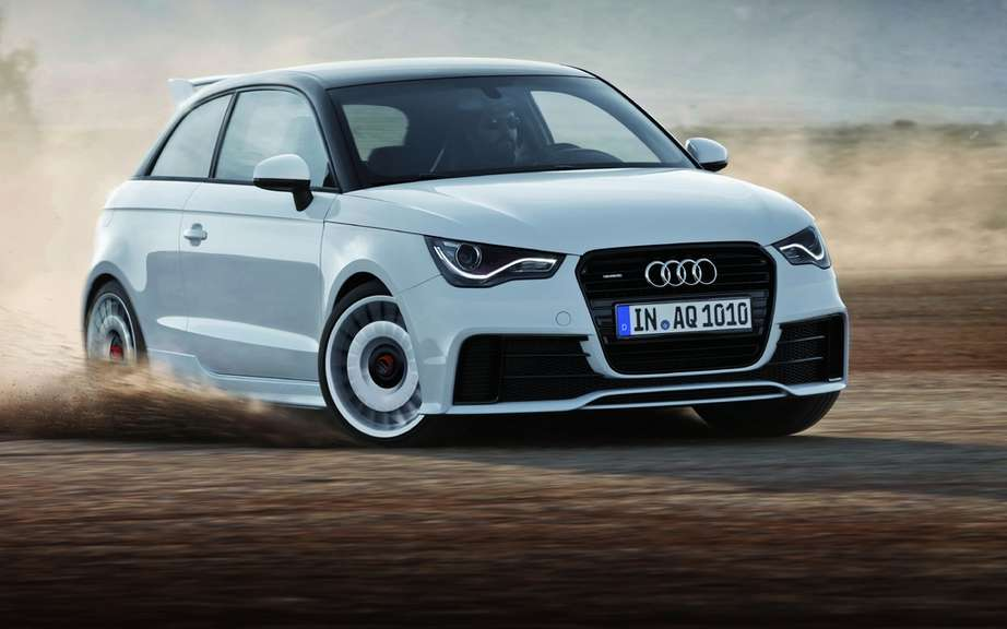 Audi A1 Quattro Limited only 333 copies picture #4