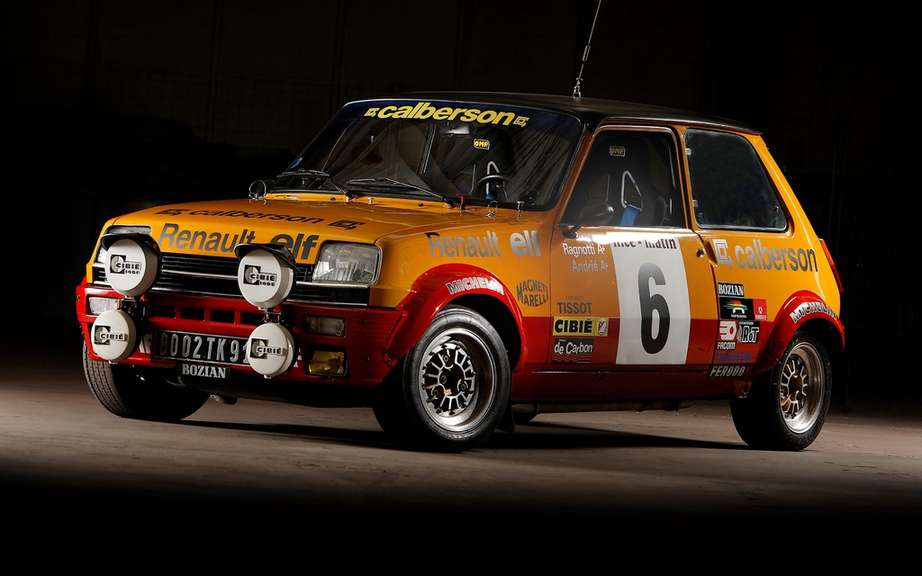Renault 5 Alpine Renault presents three departing from the historic Monte Carlo picture #1
