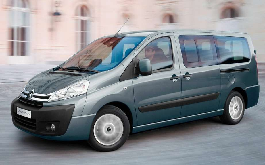 Citroen Jumpy Multispace: the pleasure of traveling several
