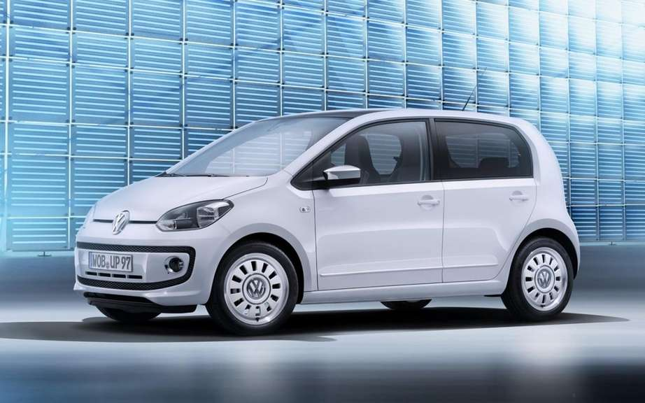 Volkswagen Up! : Here are the five-door version