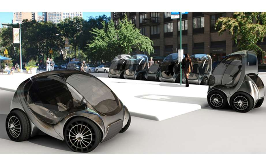 Massachusetts Institute of Technology presents its CityCar