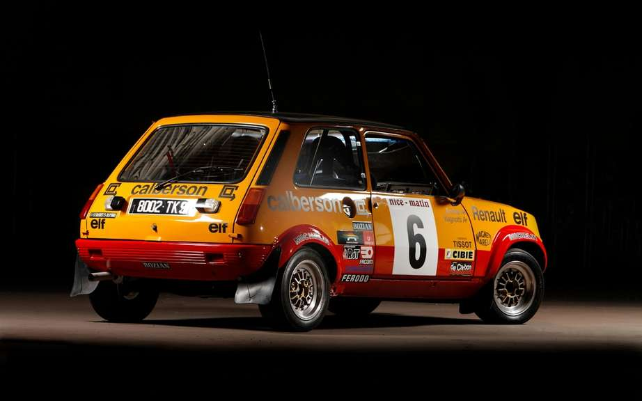 Renault 5 Alpine Renault presents three departing from the historic Monte Carlo picture #2