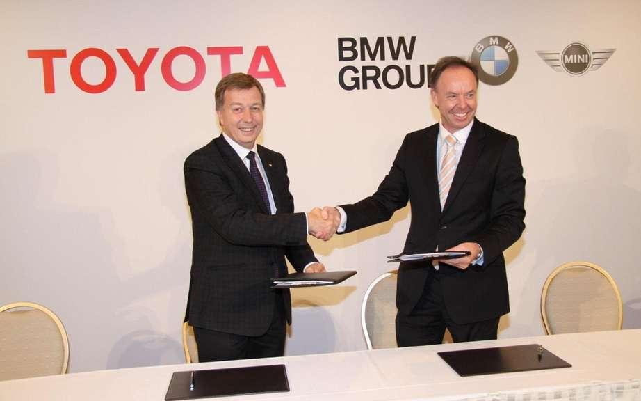 BMW and Toyota partner to be greener