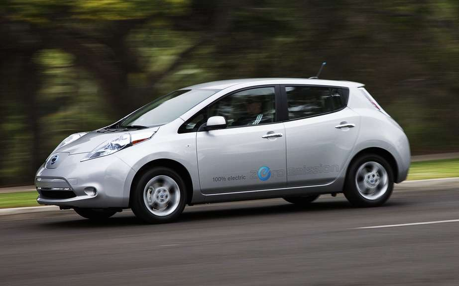 Nissan LEAF: Voted