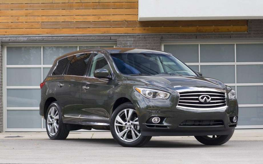 2013 Infiniti JX: For family outings