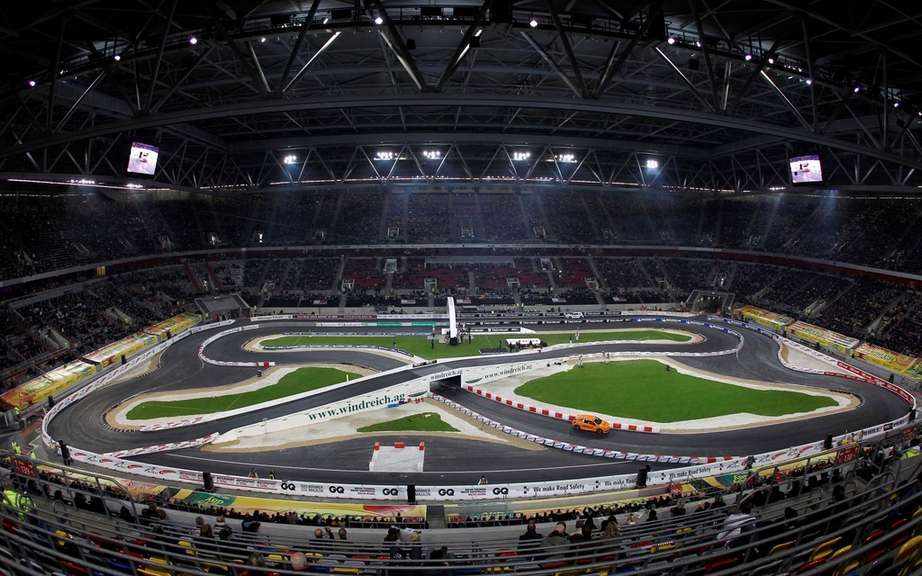 Race of Champions in Germany presented this weekend