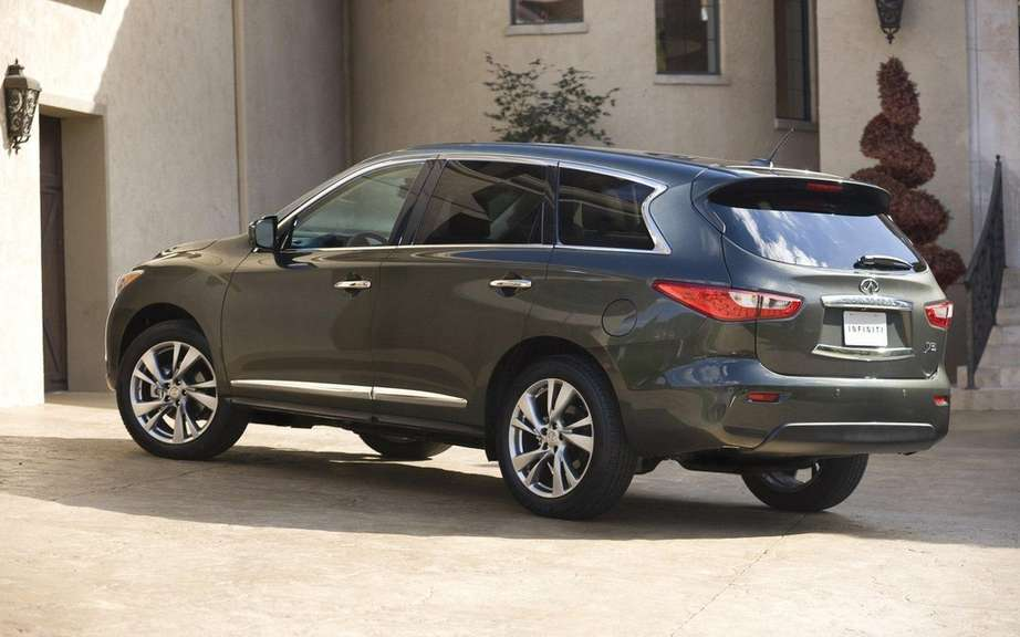 2013 Infiniti JX: For family outings picture #2