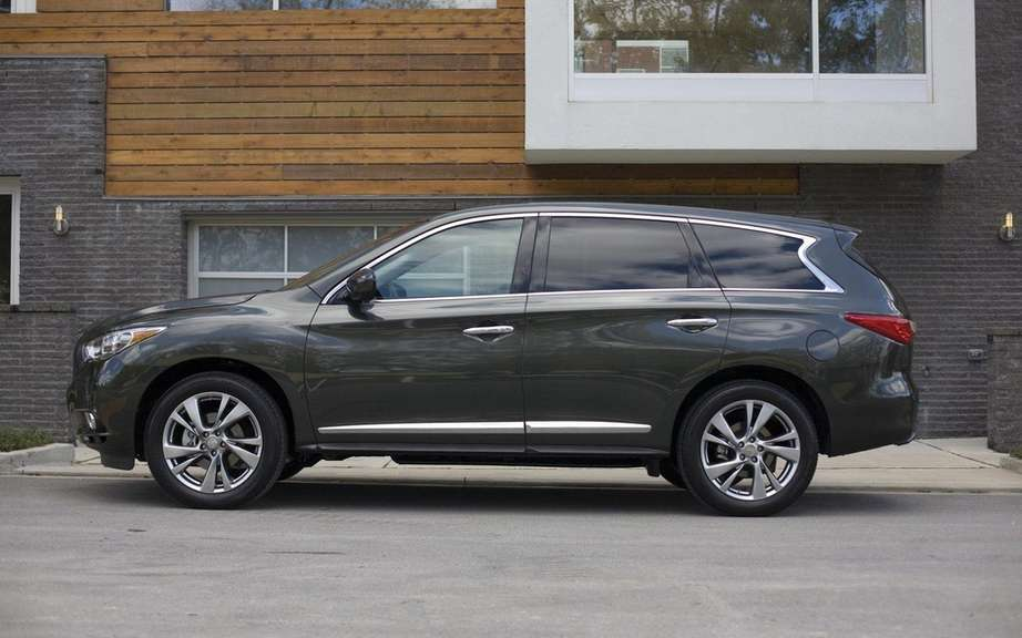 2013 Infiniti JX: For family outings picture #3
