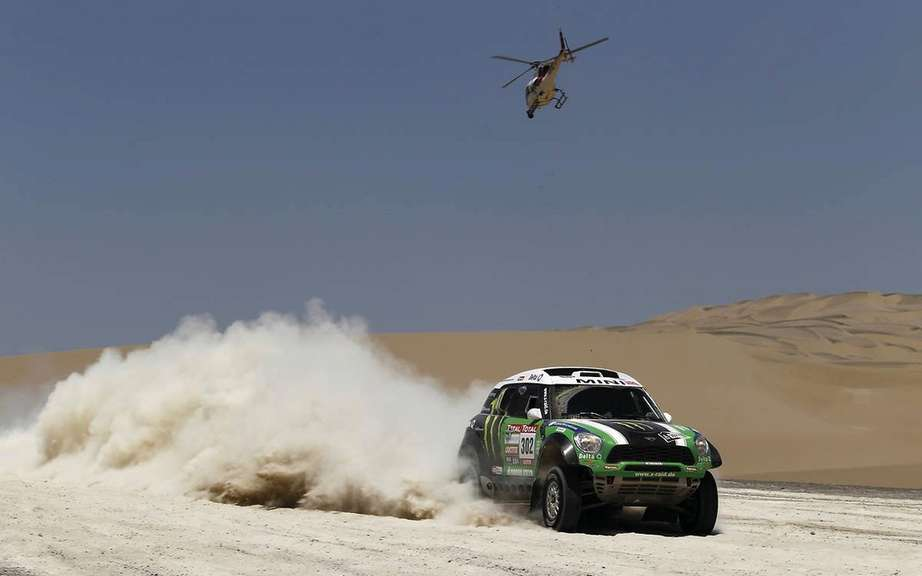 Peterhansel wins Dakar; First podium for Villeneuve Trophee Andros