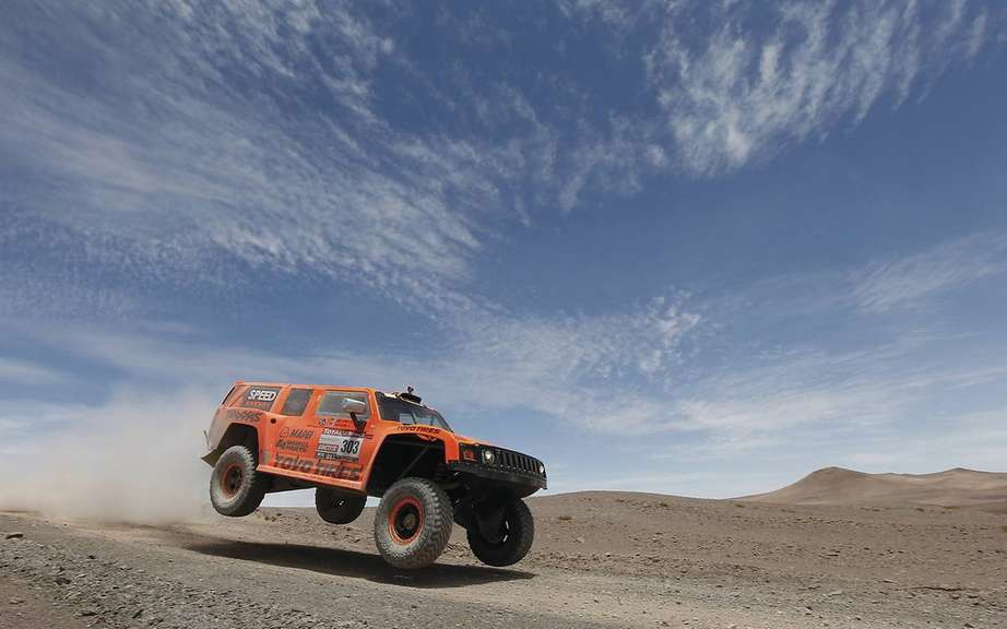 Robby Gordon won the longest stage of the Dakar picture #1