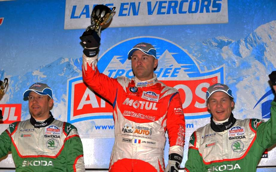 Peterhansel wins Dakar; First podium for Villeneuve Trophee Andros picture #2