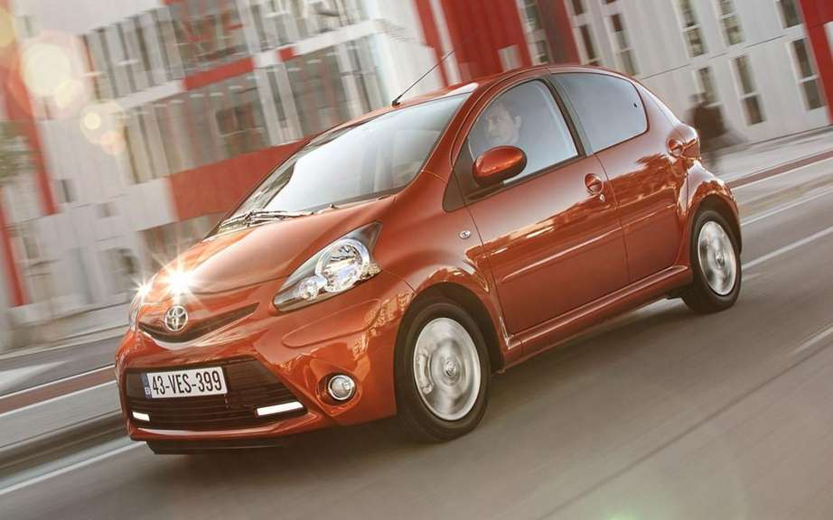 Toyota Aygo 2012: adding an Eco Version
