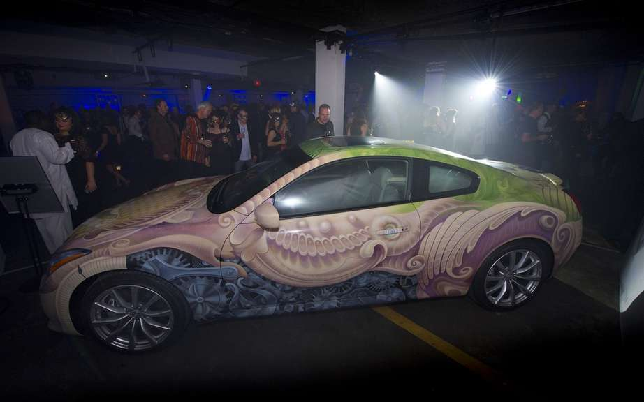 Artistic Car Infiniti G37 Canada collects $ 55,000 for One Drop picture #1