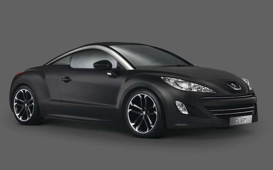 Peugeot RCZ: She won three major awards in China
