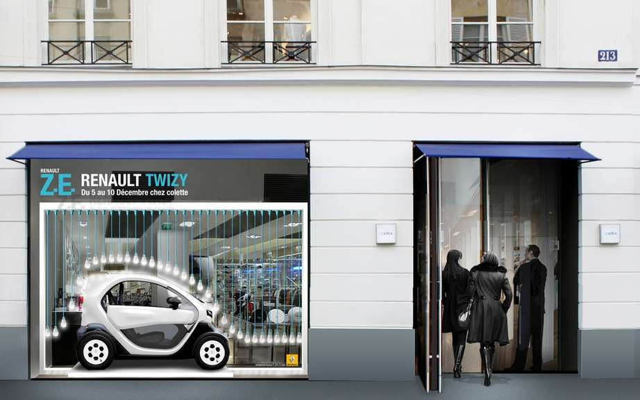 Renault Twizy: It electrifies Colette