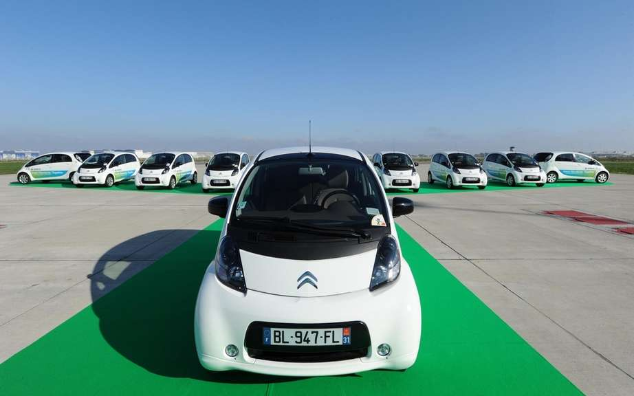 Citroen C-Zero: A copy 15th in car-sharing for employees of Airbus
