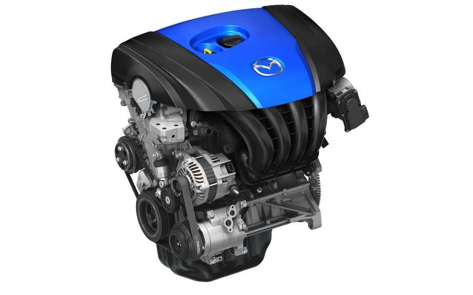 The new Mazda SKYACTIV engine won the
