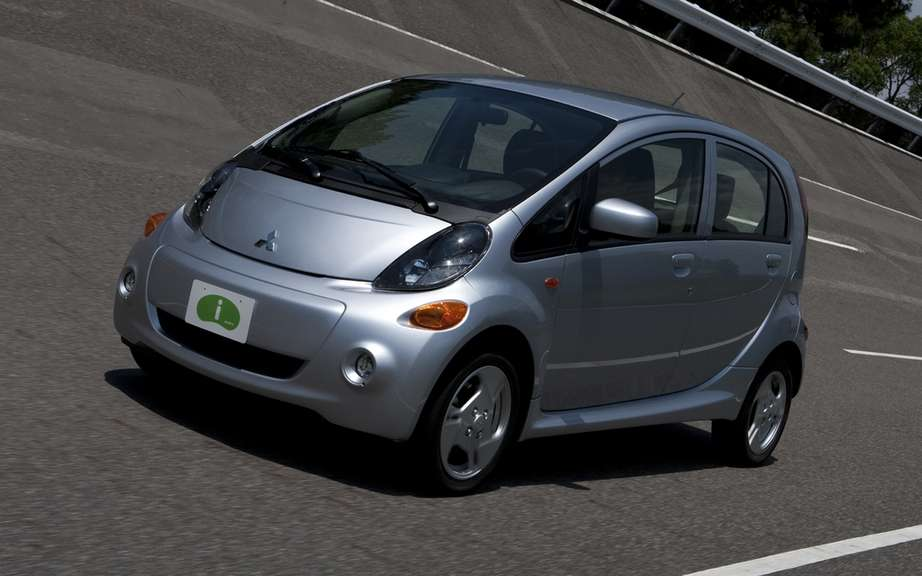Mitsubishi Canada is fine ready to take orders for its i-MiEV model