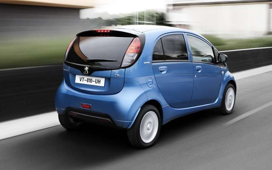 Peugeot iOn: She won a tender for more than 3,000 electric vehicles picture #3