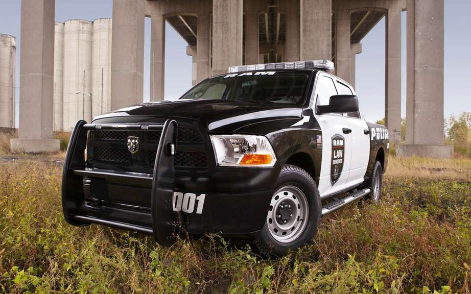 RAM 1500 adapts to the needs of police