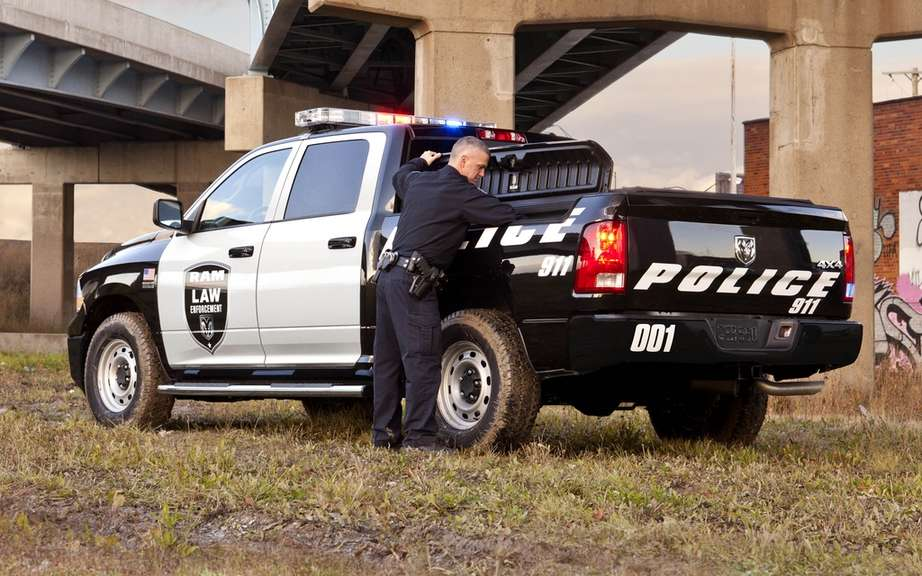 RAM 1500 adapts to the needs of police picture #3