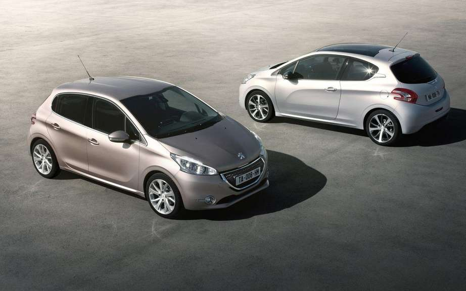 Peugeot 208 2012: Betrayed by the web picture #1