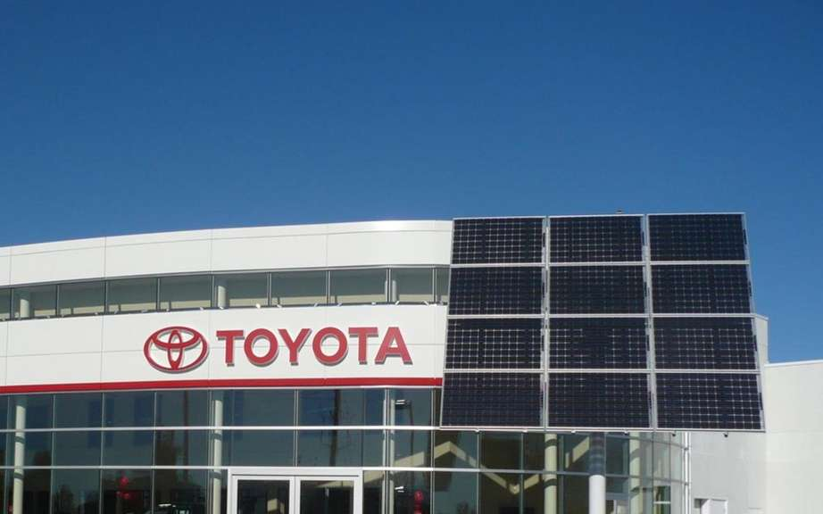 Toyota is again penalized by the floods in Thailand