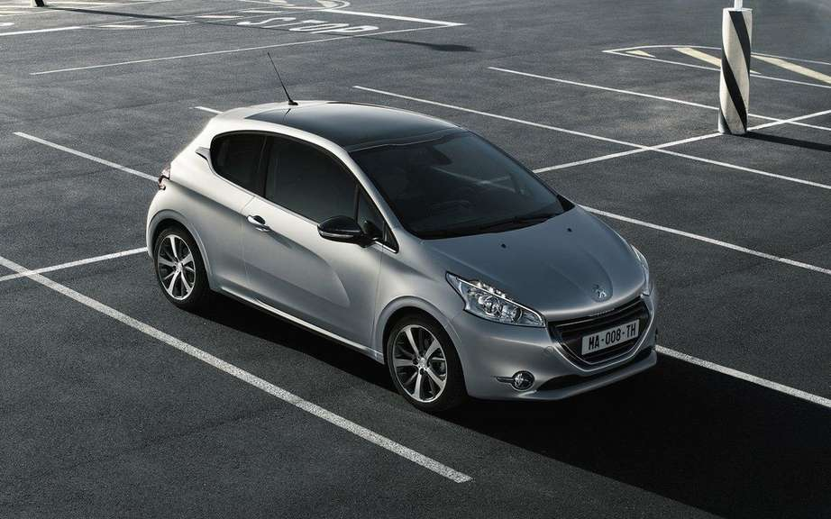 Peugeot 208 2012: Betrayed by the web picture #2