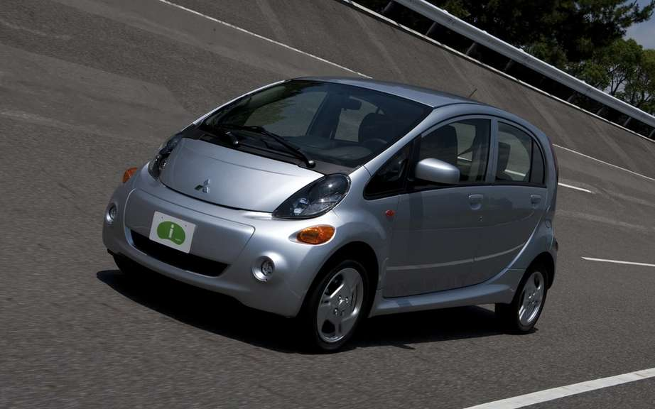 Mitsubishi starts production of its i-MiEV has destiny of North America