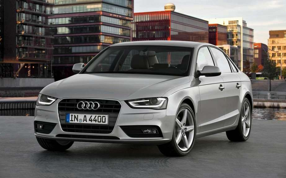 2012 Audi A4: New cosmetic retouching