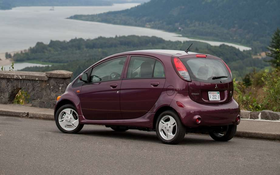 Mitsubishi starts production of its i-MiEV has destiny of North America picture #4