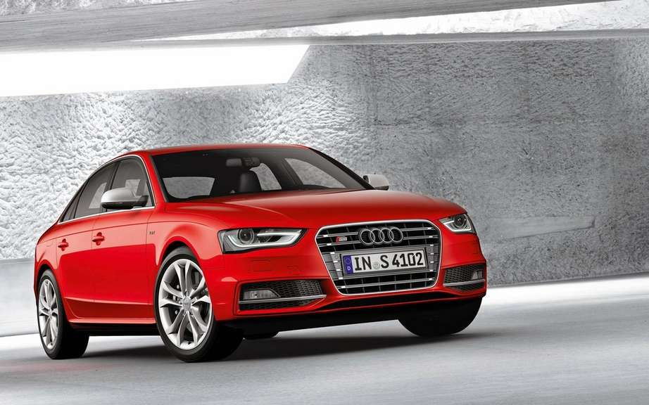 2012 Audi A4: New cosmetic retouching picture #3