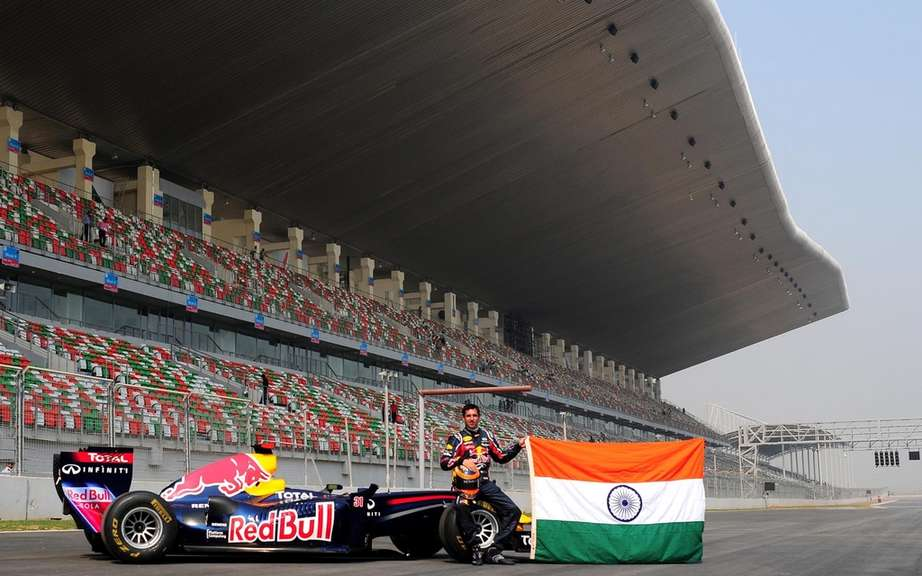 F1 debuted in India this weekend