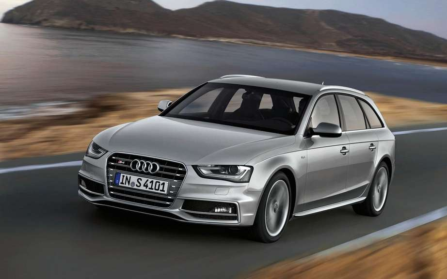 2012 Audi A4: New cosmetic retouching picture #5