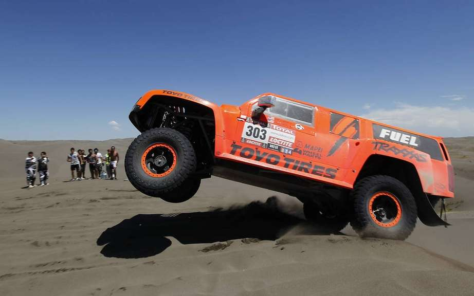 Mini - Hummer - Toyota: The classification after three stages in the Dakar