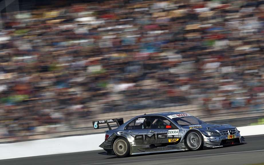 Mercedes Spengler wins but loses the title of vice-champion in DTM