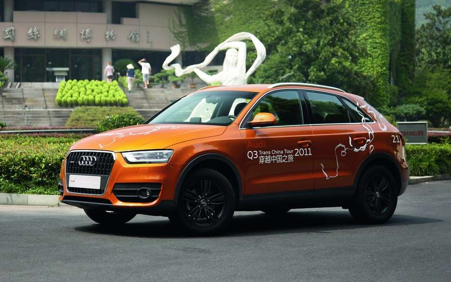 Audi Q3 Trans China Tour 2011: A great initiative