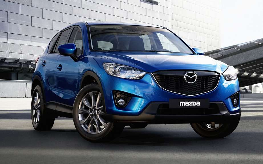 Mazda CX-5: first vehicle to use the st has ultra-high strength of 1800 MPa?
