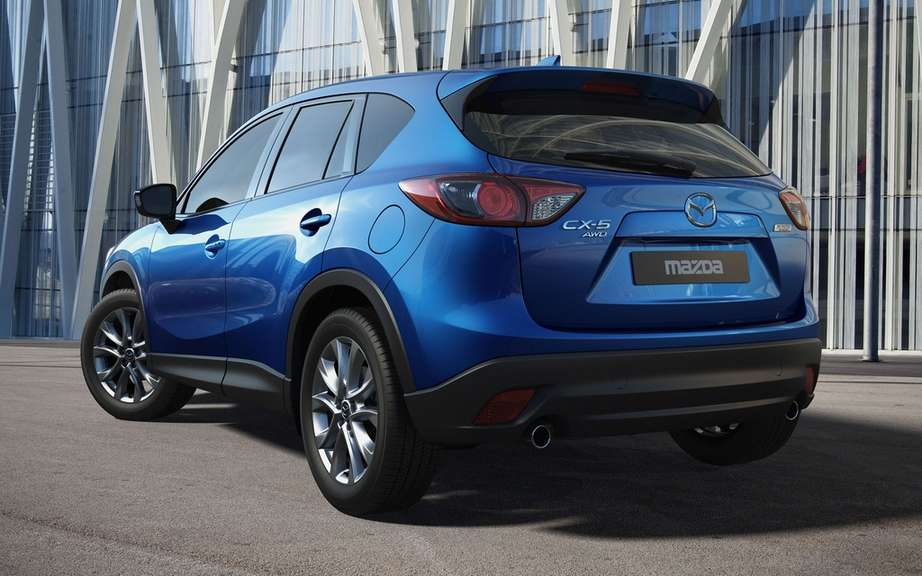 Mazda CX-5: first vehicle to use the st has ultra-high strength of 1800 MPa? picture #2