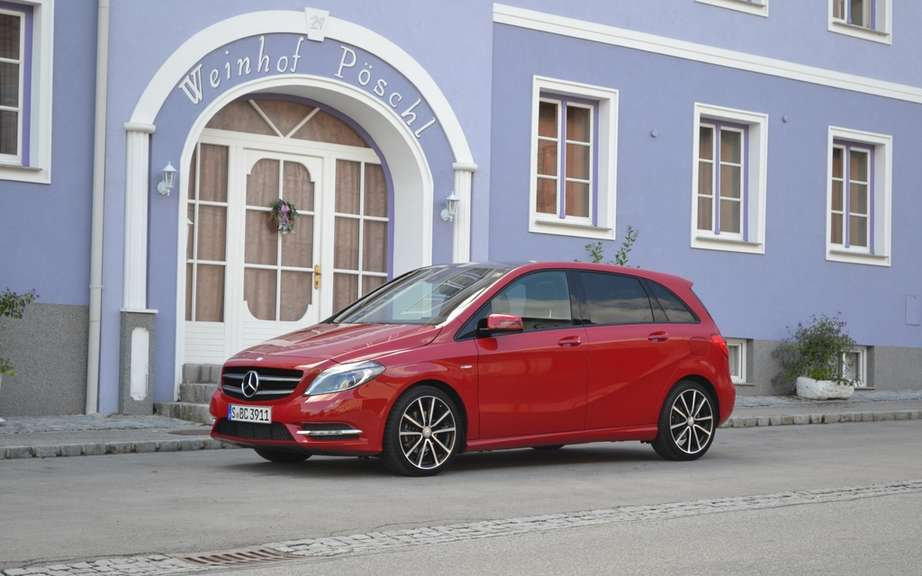Mercedes-Benz B-Class 2013 will not go to USA!