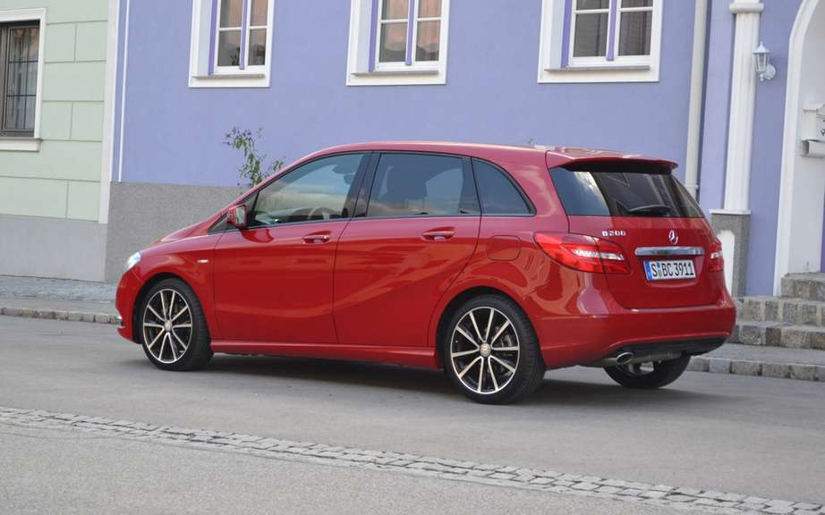 Mercedes-Benz B-Class 2013 will not go to USA! picture #2