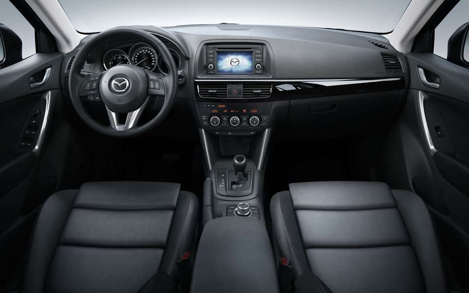 Mazda CX-5: first vehicle to use the st has ultra-high strength of 1800 MPa? picture #4