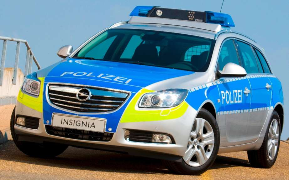 Opel / Vauxhall patrol for Milipol Exhibition