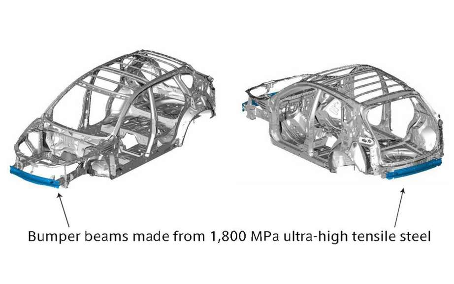 Mazda CX-5: first vehicle to use the st has ultra-high strength of 1800 MPa? picture #5